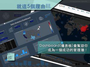 Dashboard(儀表板)會幫助你成為一個成功的管理層